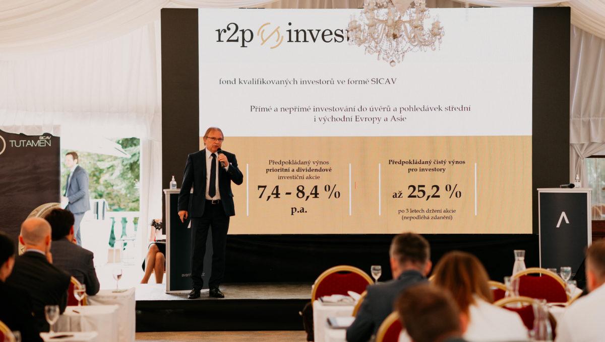 Účast na investiční konferenci AVANT IS se setkala súspěchem