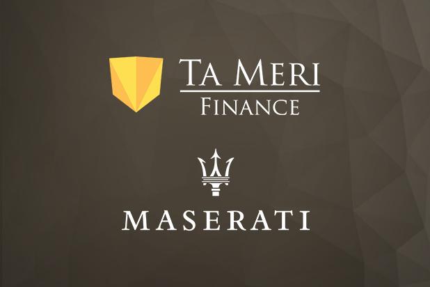 Ta Meri FINANCE PVT LTD smí nově používat značku Maserati Finance CY